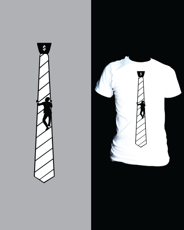 Corporate Ladder Tie