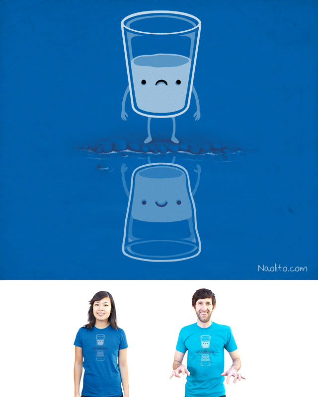 Always Look on the Bright Side of Life by Naolito on Threadless