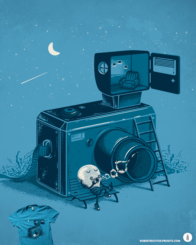 Quitting Time by Robert_Richter on Threadless