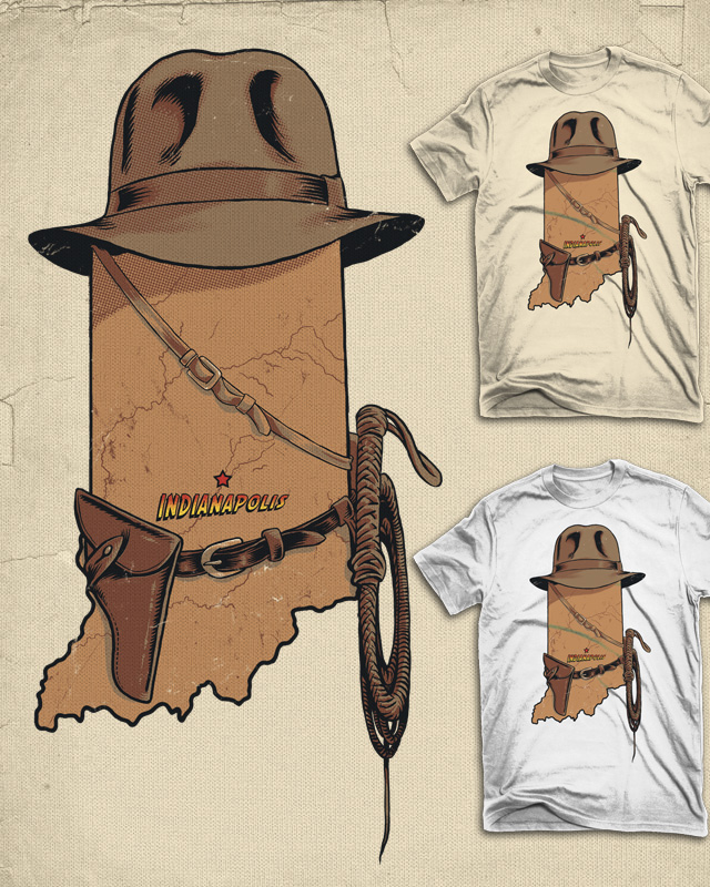 Indy by FRICKINAWESOME on Threadless