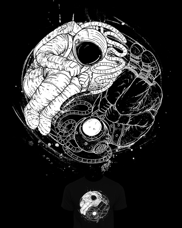 Epic Balance of Cosmic Deep Force by temyongsky on Threadless