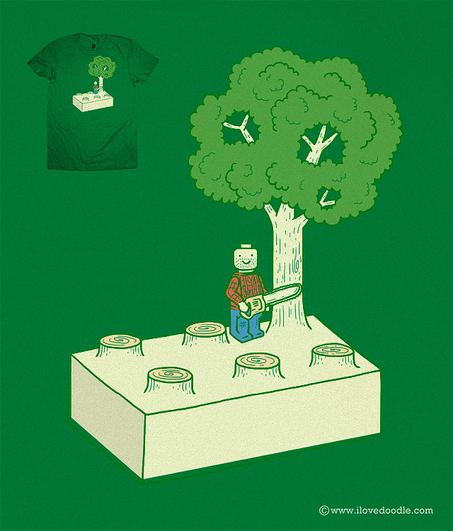 Construct & Destroy by ilovedoodle on Threadless