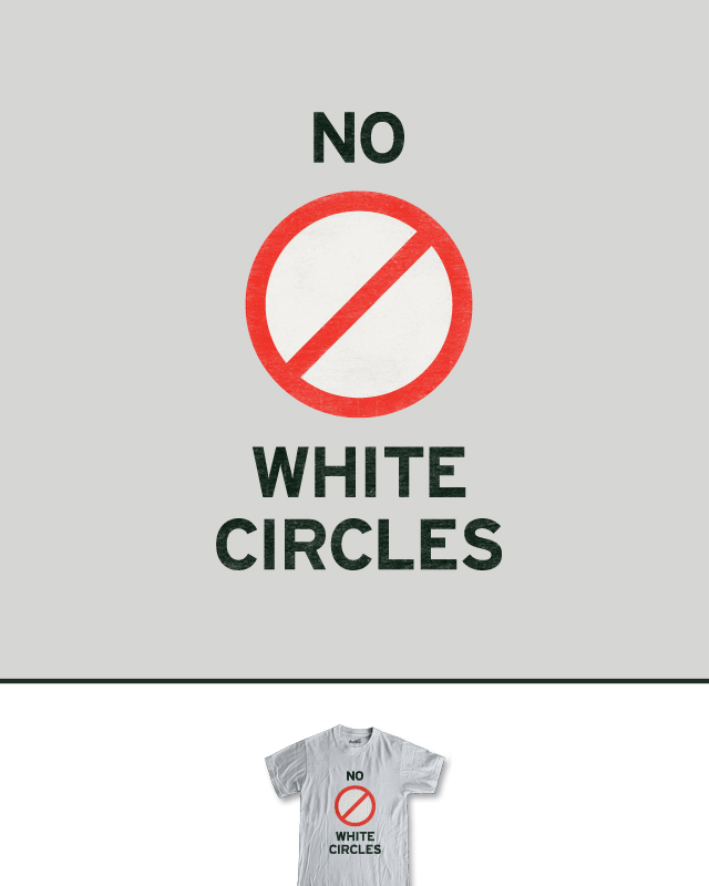 No White Circles