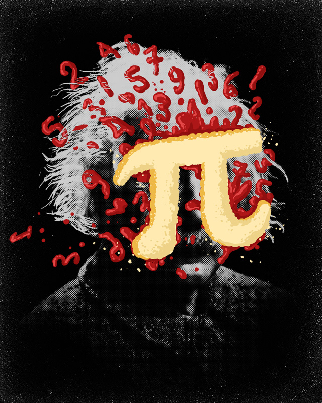 Pi to the face
