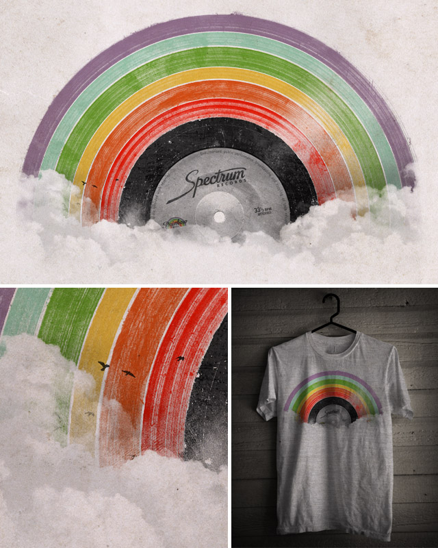 Rainbow Classics by speakerine on Threadless